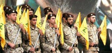 عناصر من حزب الله، الصورة أ.ب