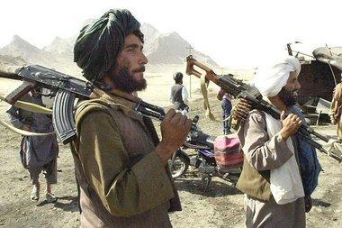عناصر من طالبان، الصورة د.ب.ا