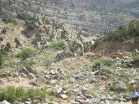 بقايا أحد معابد الآلهة أفروديت، الصورة منى نجار