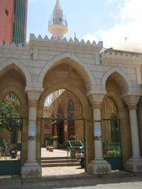 مسجد الأوزاعي، الصورة منى نجار