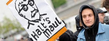 احتجاجات ضد زاراتسين، الصورة ا.ب