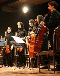 أوركسترا إيرانية في المهرجان، الصورة مهرجان بلاد الشرق