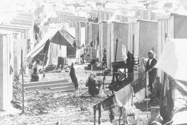 لاجئون فلسطينيون، الصورة: د.ب.ا