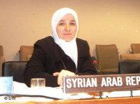 أسماء كفتارو، حفيدة مفتي الجمهورية السابق أحمد كفتارو، الصورة دويتشه فيله
