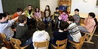 تدريس  الإسلام في احدى مدارس هامبورغ، الصورة د.ب.ا