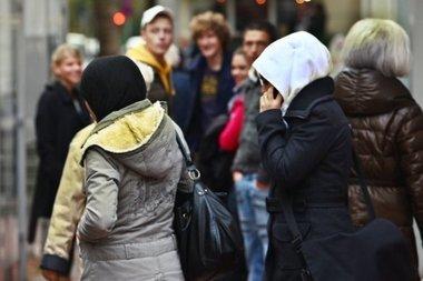 مهاجرون مسلمون في الغرب، الصورة د.ب.ا