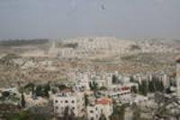 من مستوطنة جبل ابو غنيم، الصورة مهند حامد