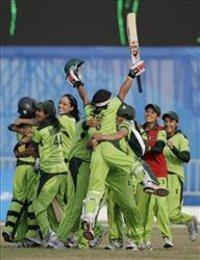 لاعبات كريكيت باكستانيات، الصورة ا.ب