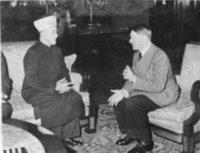 ، الصورة د.ب.ا لقاء بين أدولف هتلر والحاج أمين الحسيني