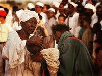 احدى حلقات الذكر في السودان،  الصورة كرياتيف كومون