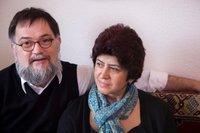 الزوجان توماس وميزين ، الصورة إيريس فولف