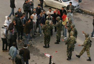 الجيش التونسي، الصورة د ب أ