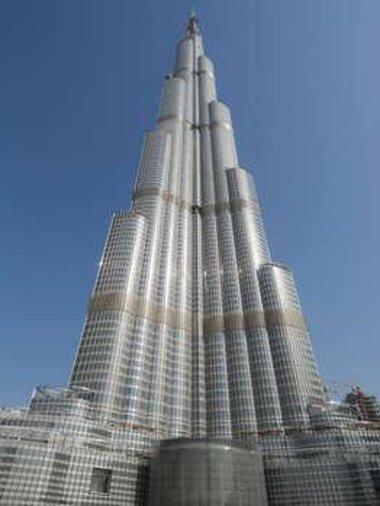 برج دبي، الصورة د.ب.ا