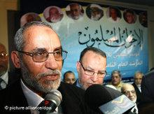 Mohammad Badie, leader of the Muslim Brotherhood (photo: dpa)