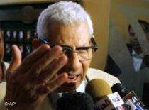 نقيب الصحفيين المصريين. الصورة: أ ب
