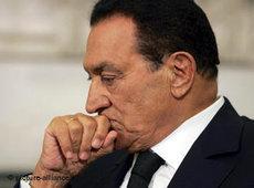 حسني مبارك.الصورة:د ب أ