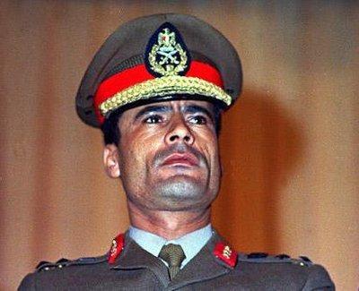 معمر القذافي. الصورة: أ ب