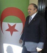 الرئيس الجزائري عبد العزيز بوتفليقة .الصورة:AP