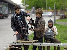 Dreharbeiten im Rahmen des Jugendaustauschprojekts 'Confessions'; Foto: Goethe-Institut