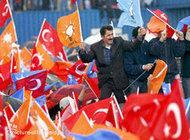 تجمع انتخابي مؤيد للعدالة والتنمية