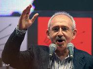 كيليكداروغلو الزعيم الجديد للحزب العلماني (CHP)  ذي التوجه الأتاتوركي، الصورة ا ب