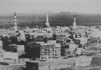صورة قديمة للمدينة المنورة، الصورة ويكيبيديا