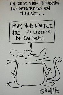 cartoon: Willis from Tunis