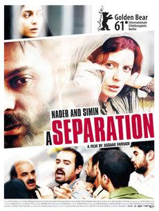 Film poster 'Nader and Simin - A seperation'