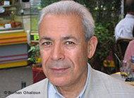 المعارض السوري البارز برهان غليون، الذي يشغل منصب مدير مركز دراسات الشرق المعاصر وأستاذ علم الاجتماع السياسي في جامعة السوربون في باريس