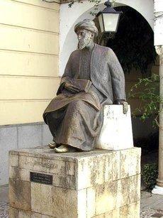 تمثال موسى بن ميمون في قرطبة. ويكيبيديا