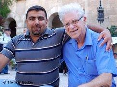 هارون بارينا ومحمد أبو عياش من ناشطي المنتدى