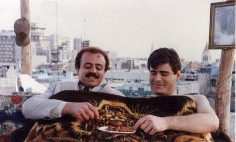 مشهد من أحد المسلسلات السورية