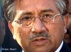 Pakistans Ex-Präsident Musharraf; Foto: dpa