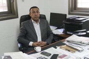 المحلل السياسي وزير الأسرى الفلسطيني السابق أشرف العجرمي