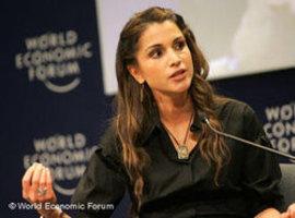 الملكة رانيا