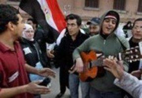 الموسيقى ميدان التحرير