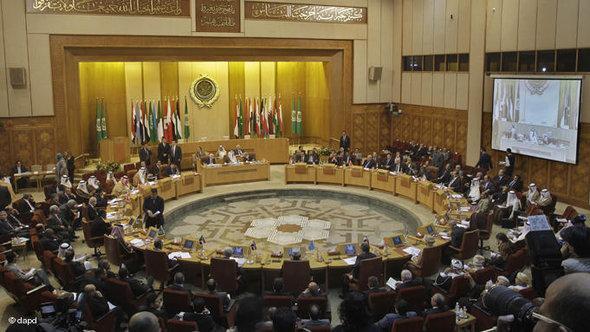 اجتماع جامعة الدول العربية بشأن سوريا