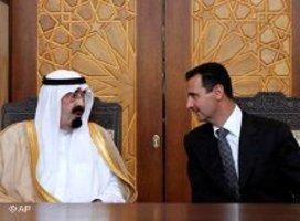 الأسد والعاهل السعودي