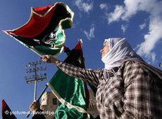 People celebrating in Libya after the news that Saif al-Islam Gaddafi had been arrested (photo: dpa)