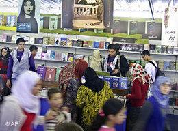 Buchmesse Kairo; Foto: AP