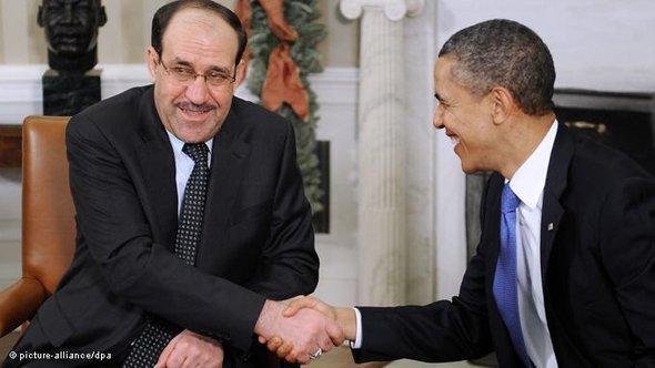 الصورة د ب ا، المالكي واوباما