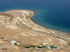 Das Tote Meer; Foto: AP