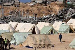 قطاع غزة الصورة د ب ا