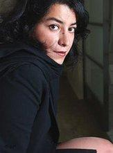 الفنَّانة الإيرانية مارجان ساترابي ، الصورة أ ب