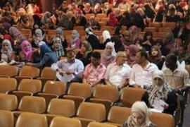 Lecture hall at Tripoli University (photo: private copyright)