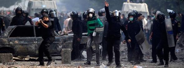 مظاهرات في ميدان التحرير ضد المجلس العسكري والمشير طنطاوي