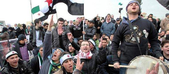 الثورة السورية ضد نظام بشار الأسد مستمرة حتى سقوط النظام، كما تقول المعارضة السورية، الصورة رويترز