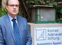 Andreas Jacobs, the head of the Cairo office of the Konrad Adenauer Foundation (photo: dpa)