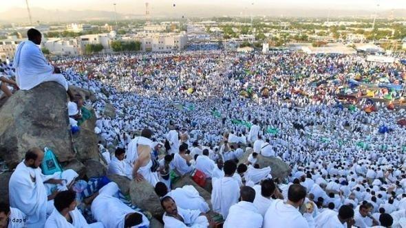 Pilgrims in Mecca (photo: dapd)