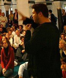 Ender Cetin in der Sehitlik-Moschee in Berlin; Foto: dpa